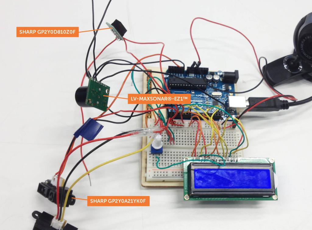 Distance sensors & arduino